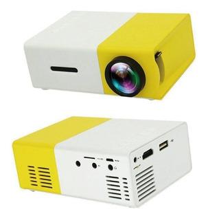 Mini Proyector Portátil Led Hdmi Av Usb Tf Control Remoto