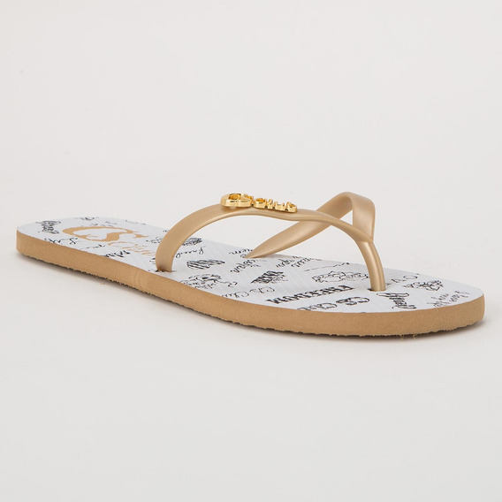 Chinelo Message Gold - R5226445066
