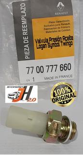 Valvula Presión De Aceite Renault Twingo Symbol Logan Tienda