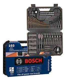 Kit Estojo De Ferramentas 103 Peças Bosch - 2608594070000