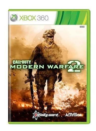 Call Of Duty Modern Warfare 2 Mídia Física Original Xbox 360