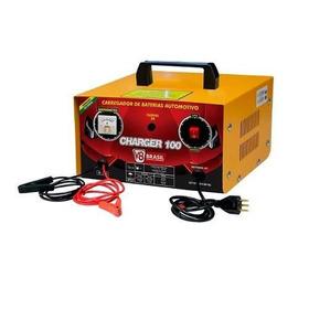 Carregador De Bateria 10a 12v Bivolt C/ Rel. Charger-100 V8
