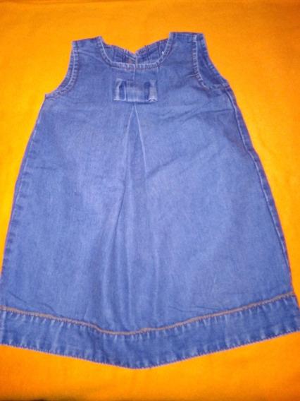 Vestido De Jeans De Bebés Niñas