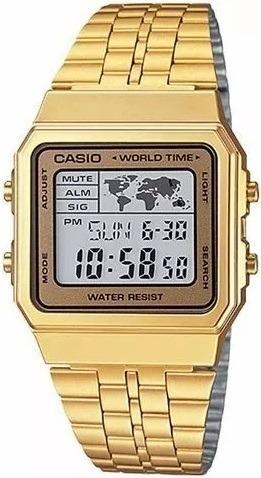 Relógio Casio Vintage World Unissex