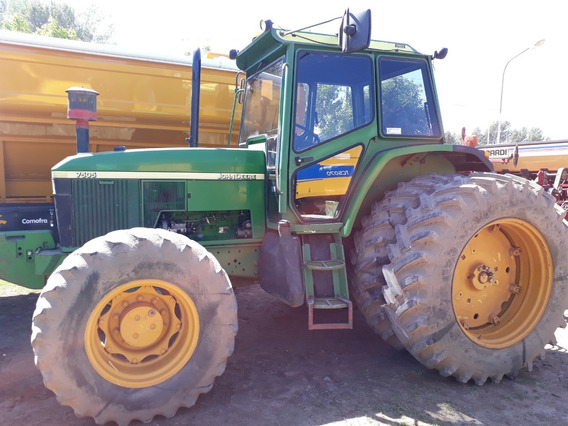 Tractor John Deere 7505, Usado..