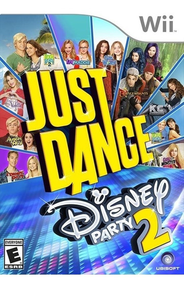 Just Dance Disney Party E Disney Party 2 Wii (leia Tudo)