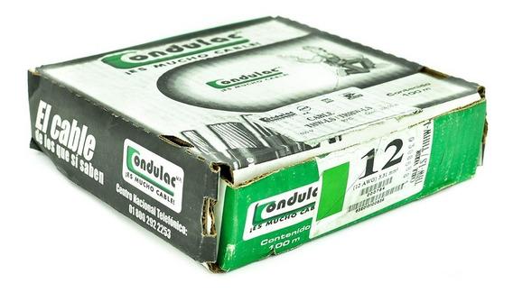 Cable Thw Calibre #12 Condulac 100 Metros Varios Colores