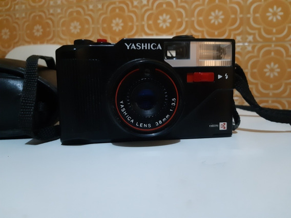 Câmera Analógica Máquina Fotográfica Yashica Mf3 Super
