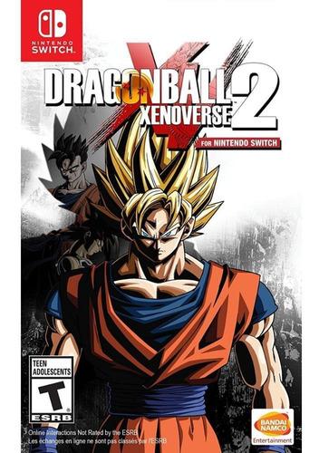 Imagem 1 de 5 de Dragon Ball Xenoverse Ii (2) Switch Mídia Física Novo