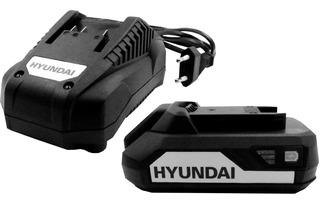 Kit Hyundai Bateria 20v 2,0ah + Cargador Linea Nueva 2020