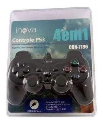 Controle Ps3 Inova 4 Em 1 - Con-7196