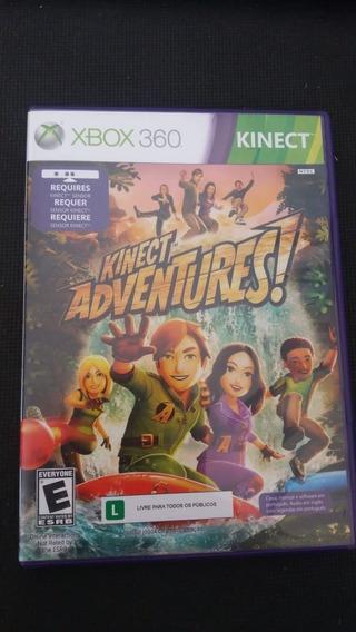 Kinect Adventures Xbox 360 Nunca Usado Em Perfeito Estado