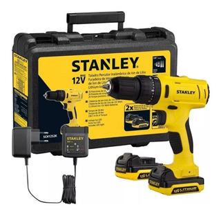 Taladro Atornillador Percutor Stanley Sch121s2k Con Baterías