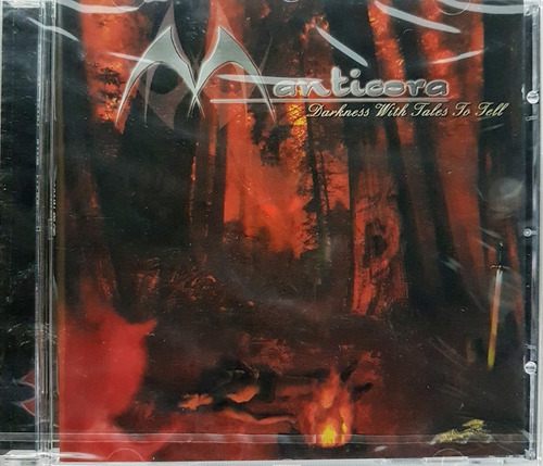 Cd Manticora - Darkness With Tales To Tell - Lacrado Import.