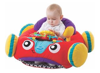Juguete Gimnasio Bebe Comfy Car Playgro Con Musica Y Luces