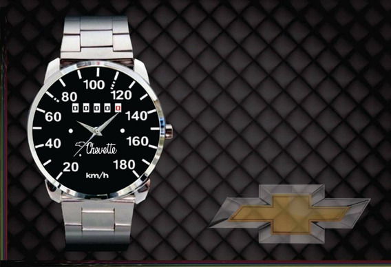 Relógio De Pulso Personalizado Painel Chevett77- Cod.gmrp058