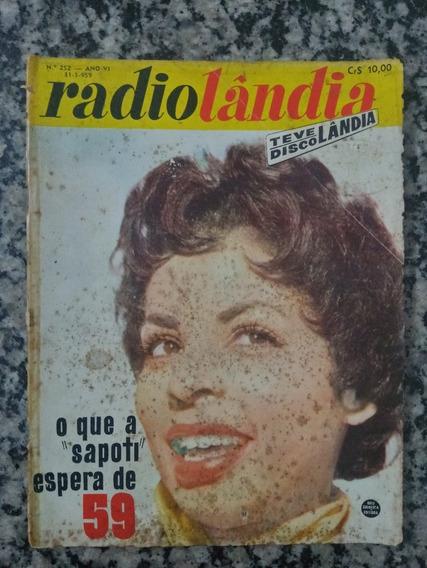 Revista Radiolândia N° 252 - 1959 O Q A Sapoti Espera De 59