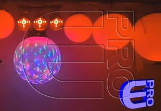 Globo Esfera O Bola Con Led Rgb De 45cm - Combo X 4 Con Dmx