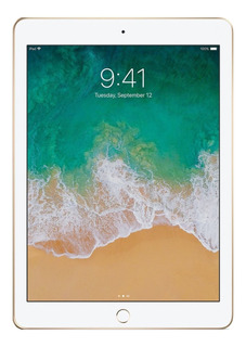 "IPad Apple iPad 6ª Generación A1893 9.7"" 32GB gold con memoria RAM 2GB"