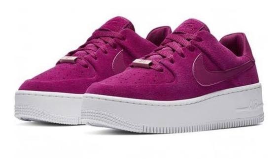 Tenis Nike Air Force Sage (piel Vacuno) Envío Gratis