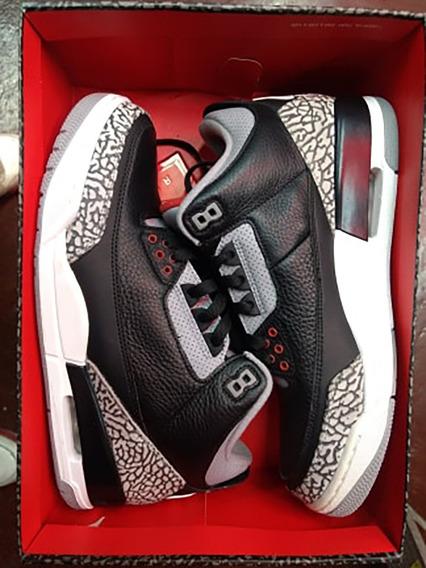 Jordan Retro 3 Black Cement
