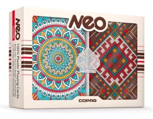 Cartas Copag Poker Neo Mandalas