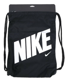 Bolsa Nike Sacola Preta Gymsack Infantil Masculino Original