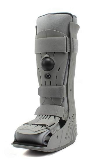 Bota Tipo Walker Larga De Lujo Ortopédica Neumática