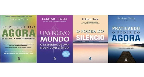 Kit O Poder Do Agora 04 Volumes Novo  - Eckhart Tolle