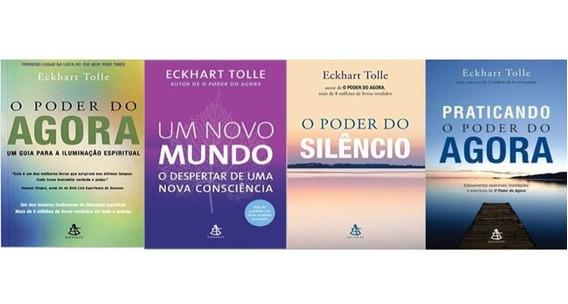 Kit O Poder Do Agora 04 Volumes Novo - Eckhart Tolle