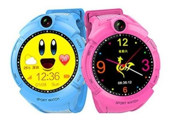 Reloj Gps Niños, Rastreo En Tiempo Real, Touch, Cámara, Kd20