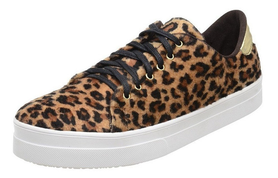 Tênis Feminino Toretto Animal Print