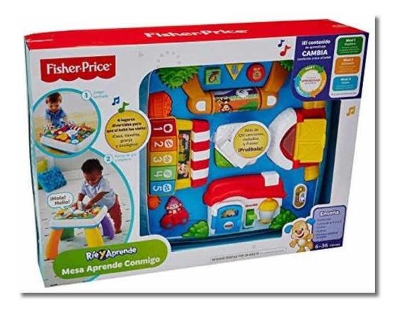 Mesa De Aprendizaje Fisher Price Ríe Y Aprende