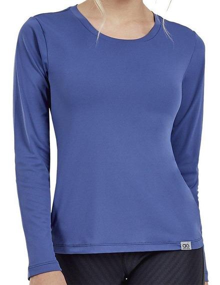Camiseta Alto Giro Skin M/l Feminina 2011705-c0996