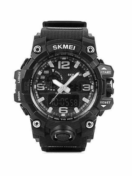 Relógio Masculino Digital Led- Preto