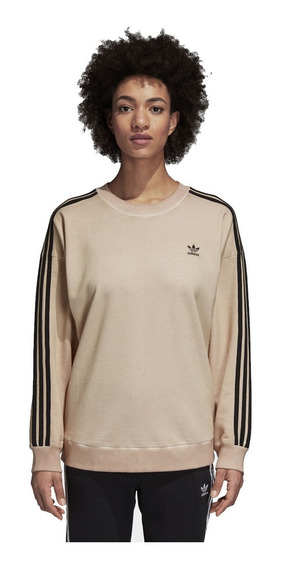 Sudadera adidas Mujer Beige Sweater Du8485