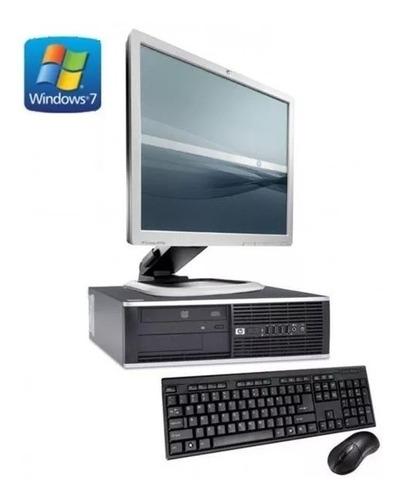 Imagen 1 de 4 de Computadora Completa Hp Dual Core - 4gb Ram Lcd 17