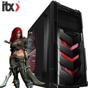 Pc Itx Gamer K45 Pentium G4560, Gtx1050 2gb, 8gb Ram, Hd 1tb