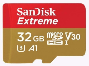 Sandisk Micro Sdhc Extreme Class10 A1 100mb/s 32gb