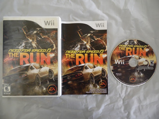 Need For Speed The Run De Nintendo Wii