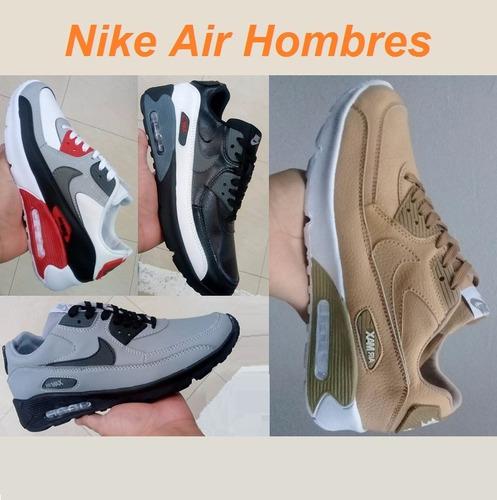 Imagen 1 de 8 de Zapatillas Nike Air Max Hombres - Moda 2018