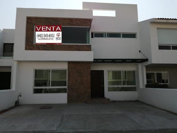 Casa En Venta De 3 Hab.(opción A 4 Hab) En La Condesa Juriquilla
