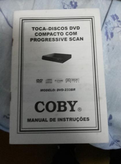 Manual Dvd Coby Modelo 233br