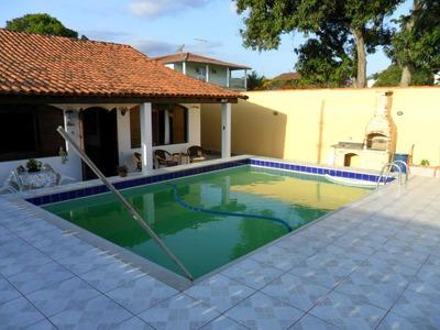 Casa 4 Quartos, 1 Su¿tes, Piscina-s¿o Pedro Da Aldeia-rj - Codigo: Ca0806 - Ca0806