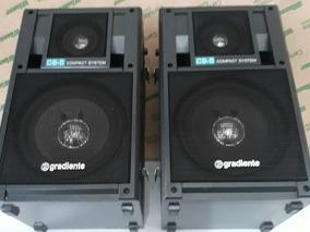 Caixas Gradiente Par Cs -5 Compact System