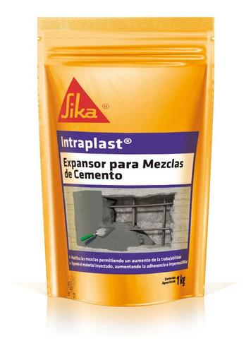 Imagen 1 de 6 de Intraplast Aditivo Expansor De Mezclas Cementicias 1 Kg