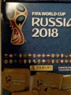 Figuritas Colecion Panini Mundial Rusia 2018
