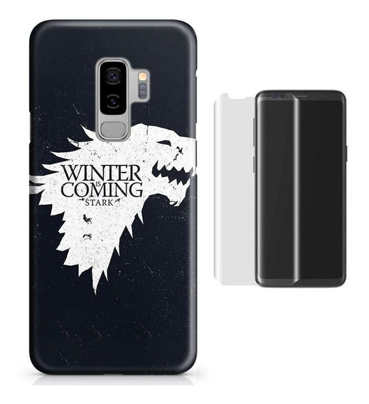Kit Capa Galaxy S9 Plus Game Of Thrones Got+pel.vidro (bd01)