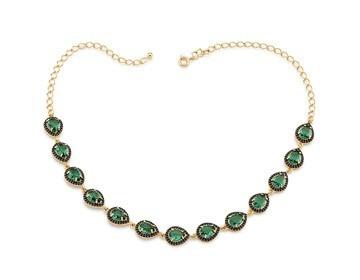 Ref 531762 Cordão Rommanel - (verde)