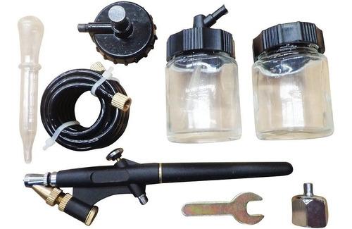 Kit Aerografo Neumatico Para Pintar + Accesorios Bppkit